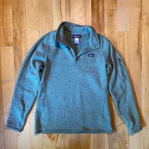 Patagonia Pullover Quarter Zip Sweater